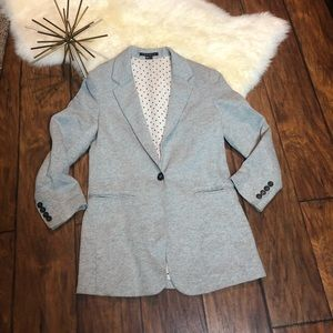 Theory 100% cotton blazer size 6